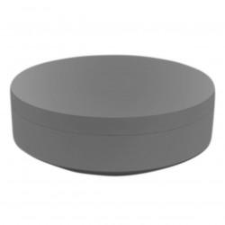 Pouf rond Vela Chill diamètre 120cm, Vondom acier