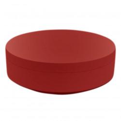 Pouf rond Vela Chill diamètre 120cm, Vondom rouge