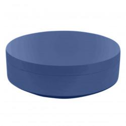 Pouf rond Vela Chill diamètre 120cm, Vondom bleu marine