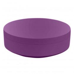 Pouf rond Vela Chill diamètre 120cm, Vondom violet prune