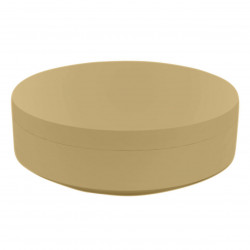 Pouf rond Vela Chill diamètre 120cm, Vondom beige