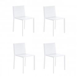 Lot de 4 chaises Quartz, Vondom Gris