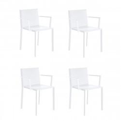 Lot de 4 fauteuils Quartz, Vondom Bronze
