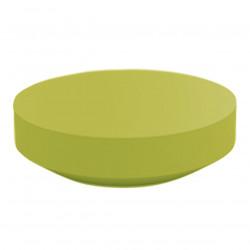 Table basse design ronde Vela diamètre 120cm, Vondom pistache