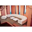 Table basse design carrée Vela Chill 80, Vondom acier