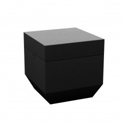 Pouf Vela 40x40cm, Vondom noir