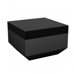 Pouf Vela 60x60cm, Vondom noir