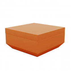 Pouf Vela 80x80cm, Vondom orange