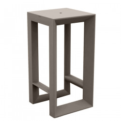 Table haute Frame, Vondom taupe