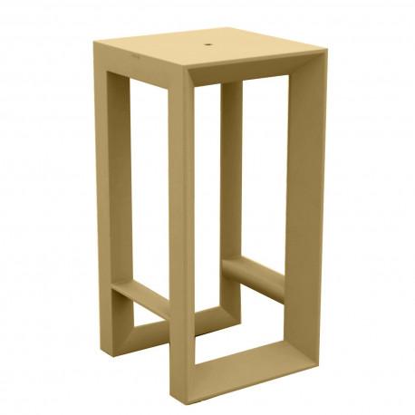Table haute Frame, Vondom beige