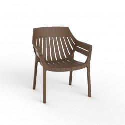 Fauteuil lounge Spritz, Vondom bronze
