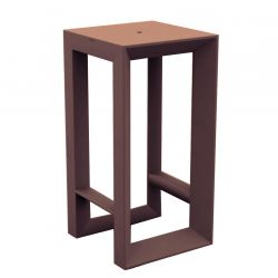 Table haute Frame, Vondom bronze