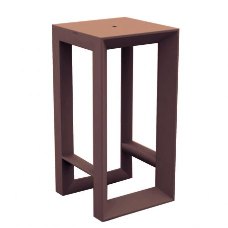 Table haute Frame, Vondom bronze