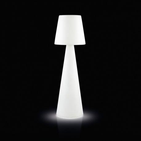 Lampadaire Pivot Outdoor, hauteur 2 m, Slide Design, blanc