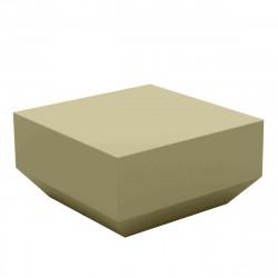 Table basse Vela Chill 60x60xH30 cm, Vondom, kaki