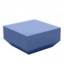 Table basse Vela Chill 60x60xH30 cm, Vondom, bleu marine