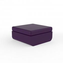 Pouf Ulm, Vondom, 82x75xH72cm, violet prune