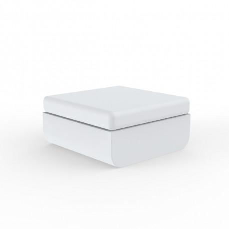 Pouf Ulm, Vondom, 82x75xH72cm, blanc
