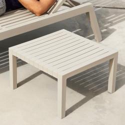 Table basse pour chaise longue Spritz, Vondom écru, 59x59xH28cm