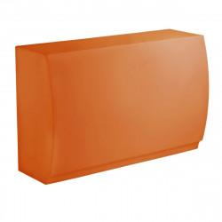 Bar Design Fiesta, module droit 180x80xH115cm, Vondom, Orange