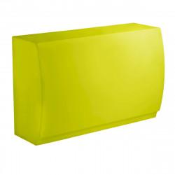 Bar Design Fiesta, module droit 180x80xH115cm, Vondom, Vert Pistache