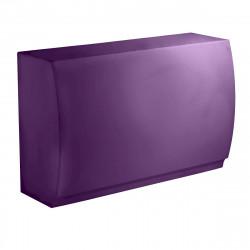 Bar Design Fiesta, module droit 180x80xH115cm, Vondom, Violet Prune