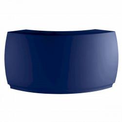 Bar Design Fiesta, module courbe 160x160xH115cm, Vondom, Bleu Marine