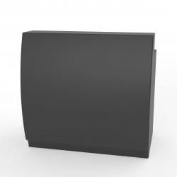 Bar design Fiesta 120, module droit 120x80xH115cm avec plan de travail, Vondom Gris Anthracite