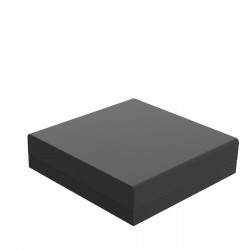 Pouf canapé outdoor design Pixel, Vondom, tissu Silvertex Noir