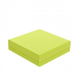 Pouf canapé outdoor design Pixel, Vondom, tissu Silvertex Pistache