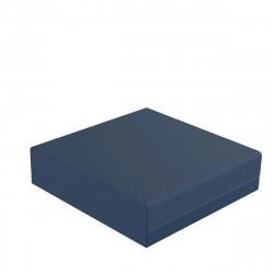 Pouf canapé outdoor design Pixel, Vondom, tissu Silvertex Navy