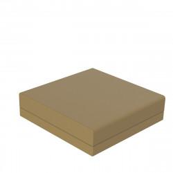 Pouf canapé outdoor design Pixel, Vondom, tissu Silvertex Beige