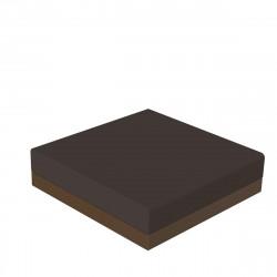 Pouf canapé outdoor design Pixel, Vondom, tissu Silvertex Bronze