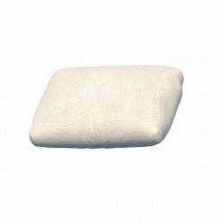 Coussin déperlant extérieur Suave, 50x35cm, Vondom, blanc Snow 1041