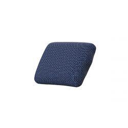 Coussin déperlant extérieur Suave, 50x35cm, Vondom, bleu Outre-Mer 1002
