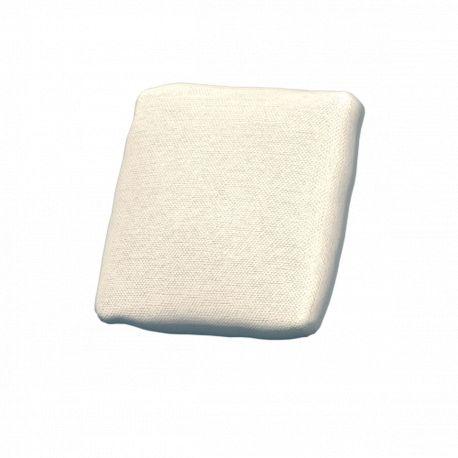 Coussin extérieur déperlant Suave, 50x50cm, Vondom, blanc Snow 1041