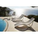 Lot de 4 Fauteuils lounge en plastique recyclé Ibiza, Vondom noir Manta 4022