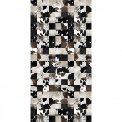 Tapis vinyle mosaïque rectangulaire, 99x198cm, collection Baba Souk, Pôdevache