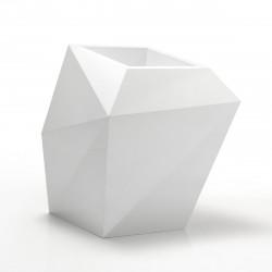 Pot Faz XL, modèle Medium, 92x77xH101 cm, Vondom, blanc