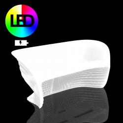 Sofa Biophilia Lumineux Led RGBW à batterie, Vondom