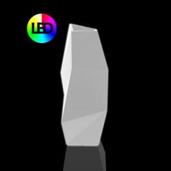Pot design Faz, modèle Haut, Lumineux Leds RGBW, Vondom, 44x49xH110 cm