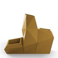 Ensemble de 3 pots Faz, Taille XL, Vondom, beige