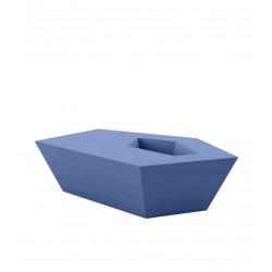 Petite Table basse Faz, Vondom, bleu marine