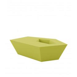 Petite Table basse Faz, Vondom, vert pistache