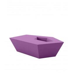 Petite Table basse Faz, Vondom, violet prune