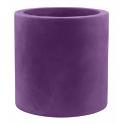 Pot Cylindre diamètre 120 x hauteur 100 cm, simple paroi, Vondom violet prune