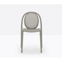 Lot de 4 chaises Remind 3730, Pedrali, gris