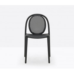 Lot de 4 chaises Remind 3730, Pedrali, noir
