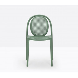 Lot de 4 chaises Remind 3730, Pedrali, vert
