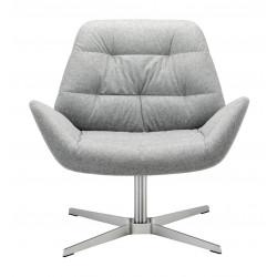 809, fauteuil Thonet design, chic et confortable, gris
